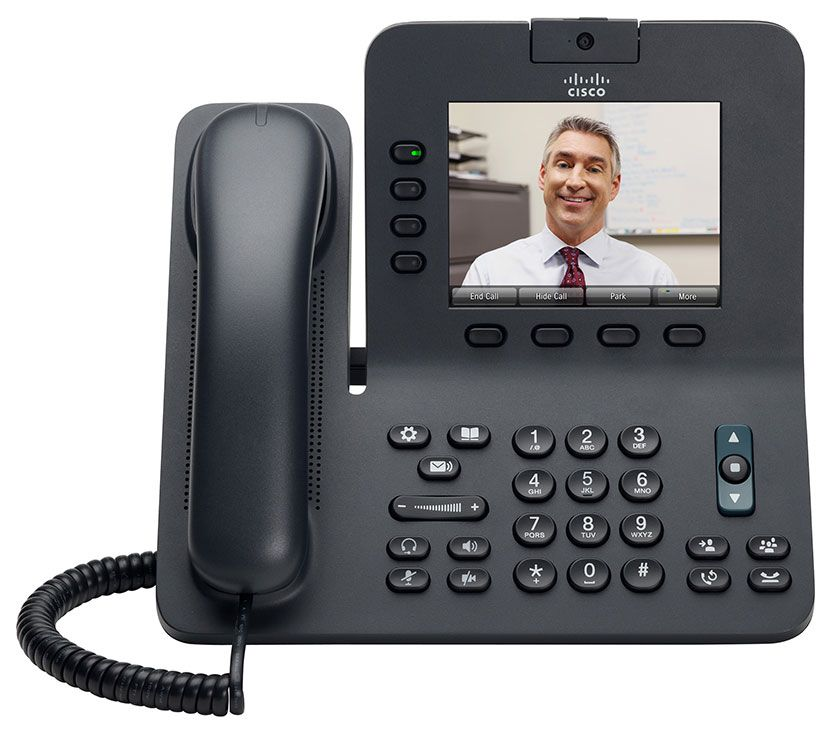 CISCO UC Phone CP-8945 IP Video Phone W// handset QTY#